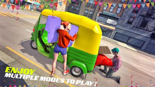Tuk Tuk Auto Rickshaw Driving Simulator Games screenshot 1