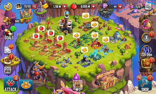 Monster Legends: Breed, Collect and Battle स्क्रीनशॉट 6