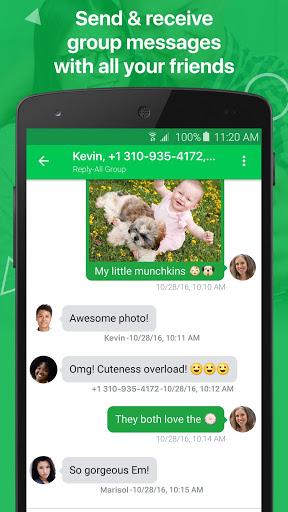 textPlus: Free Text & Calls स्क्रीनशॉट 3