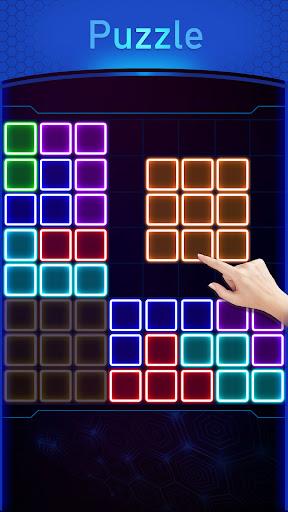 Glow Block Puzzle screenshot 5