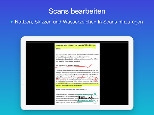 CamScanner-Kostenloser PDF- und Dokumentenscanner screenshot 11