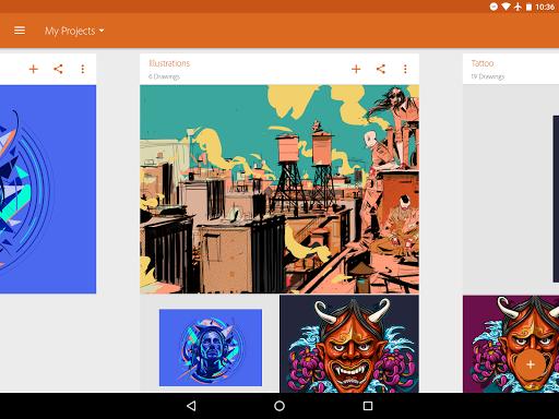 Adobe Illustrator Draw screenshot 8