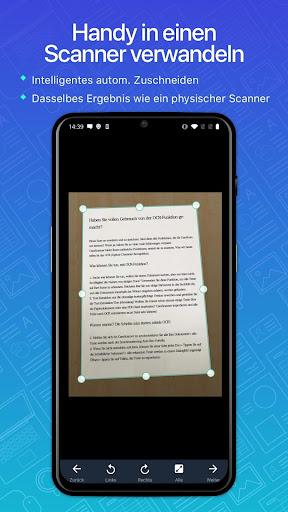 CamScanner-Kostenloser PDF- und Dokumentenscanner screenshot 1