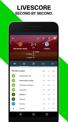 Forza Football - Live soccer scores screenshot 1