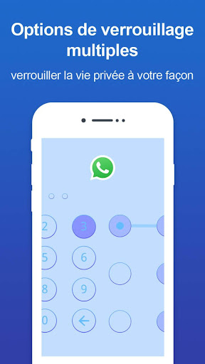 Verrou d'appli - Verrou par code et motif screenshot 3