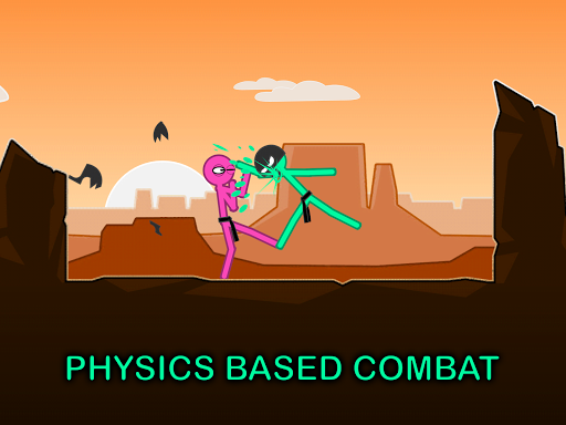 Slapstick Fighter - Stickman Ragdoll Fighting Game screenshot 6