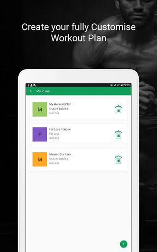 Fitvate - Home & Gym Workout Trainer Fitness Plans screenshot 24