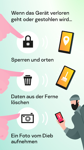 Kaspersky Sicherheit: Antivirus und Handy Schutz screenshot 4