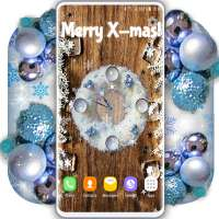Christmas Clock Live Wallpaper 🎄 X-mas Wallpapers on 9Apps