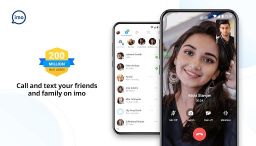 imo video calls and chat screenshot 1