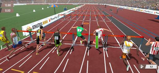 Athletics Mania: Atletica leggera giochi estivi screenshot 1