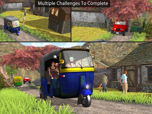 Tuk Tuk Auto Rickshaw Offroad Driving Games 2020 screenshot 20