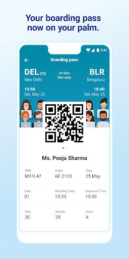 IndiGo-Flight Ticket Booking App 5 تصوير الشاشة