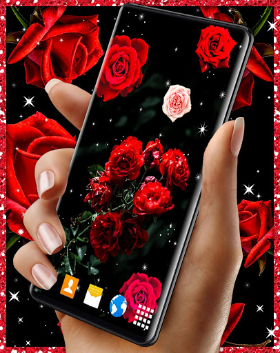 Red Rose Live Wallpaper 🌹 Flowers 4K Wallpapers screenshot 8