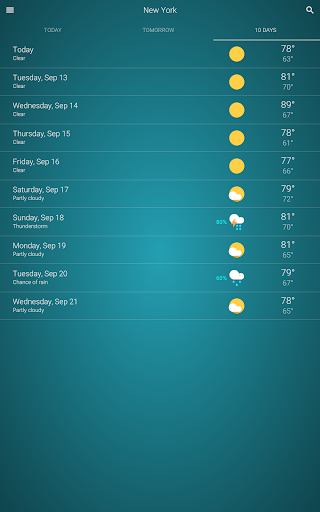 Cuaca screenshot 12