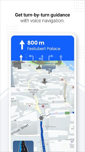 Navegação GPS ao vivo, mapas, direções e explorar screenshot 14