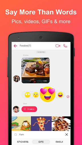 JusTalk - panggilan video dan obrolan video gratis screenshot 6