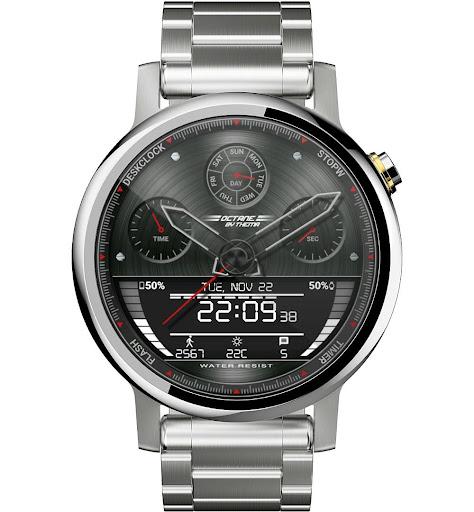 Octane Watch Face & Clock Widget скриншот 10