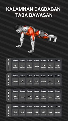 Muscle Booster Workout Planner screenshot 1