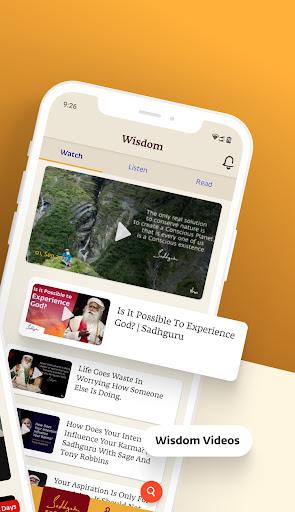 Sadhguru - Yoga, Meditation & Spirituality screenshot 2