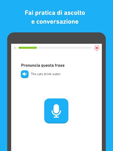 Impara l'inglese con Duolingo screenshot 9
