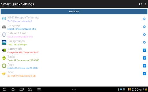 Configuración rápida screenshot 18