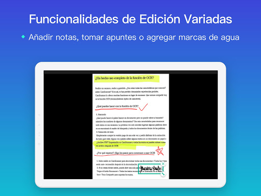 CamScanner Escáner PDF, Escáner de documentos screenshot 13