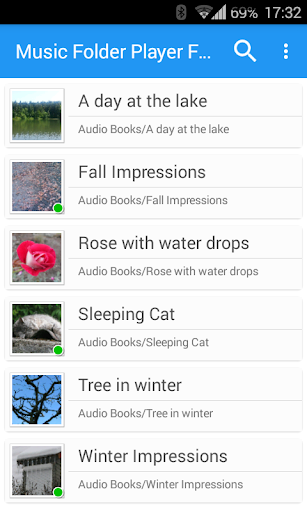 Music Folder Player Free screenshot 1