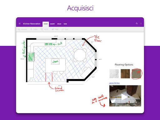 Microsoft OneNote: salva idee e organizza note screenshot 6
