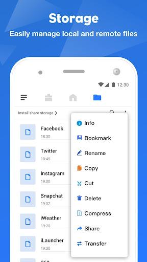 FileMaster: File Manage, File Transfer Power Clean screenshot 4
