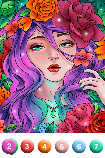 Paint By Number - Coloring Book & Color by Number screenshot 10