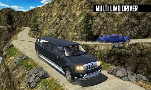 Big City Limo Car Driving Taxi Games screenshot 6