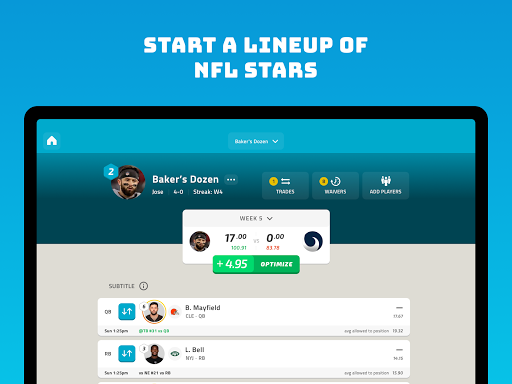 NFL Fantasy Football screenshot 14