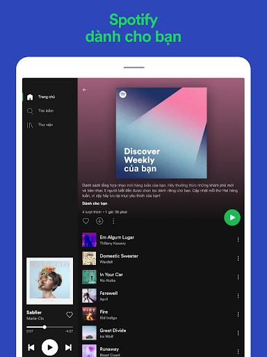 Spotify: Nhạc và podcast screenshot 11