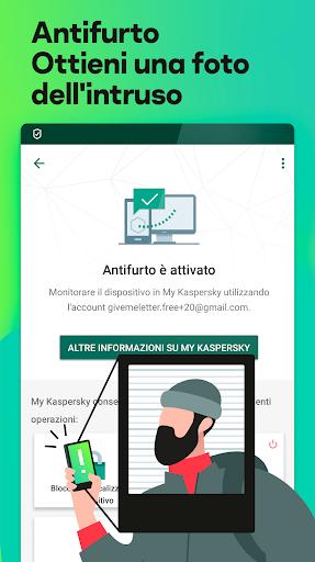 Kaspersky Mobile Antivirus: AppLock Sicurezza Web screenshot 4