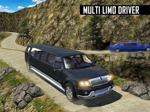 Big City Limo Car Driving Taxi Games screenshot 22