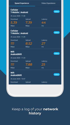 Opensignal - 5G, 4G, 3G Internet & WiFi Speed Test screenshot 8