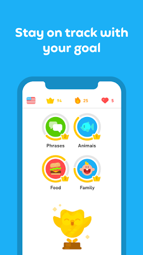 Duolingo: language lessons screenshot 6