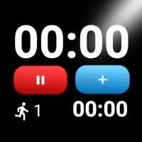 Cronometro e Timer- Cronografo sportivo avanzato on 9Apps