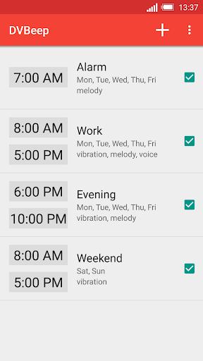 Konuşan Saat ve Alarm DVBeep screenshot 1