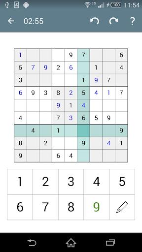 Sudoku screenshot 5