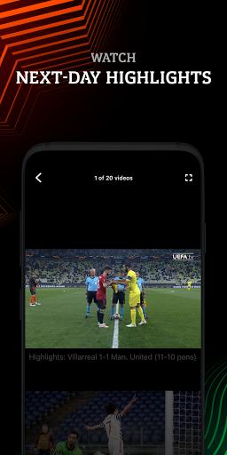 Europa: official football app screenshot 4