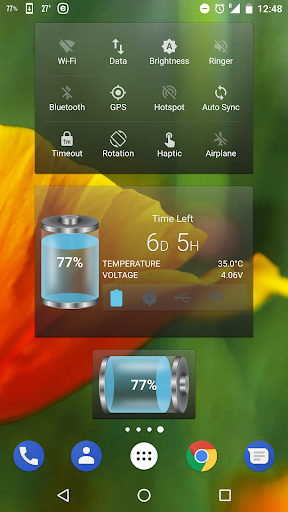 Battery Tools & Widget for Android (Battery Saver) screenshot 1