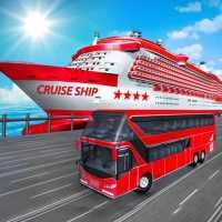 Transport Cruise Ship Game Passenger Bus Simulator on 9Apps