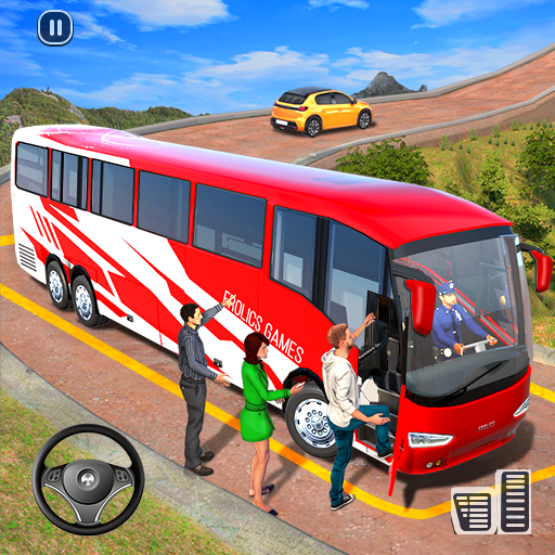 Modern Bus Simulator New Parking Games – Bus Games icon