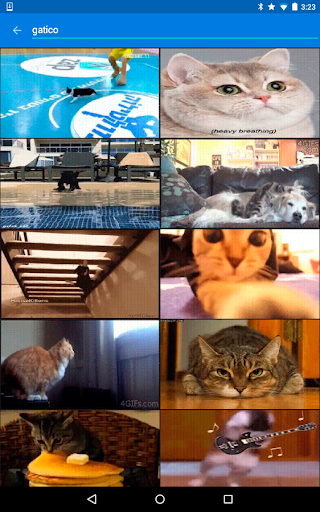 Tenor GIF Keyboard screenshot 4
