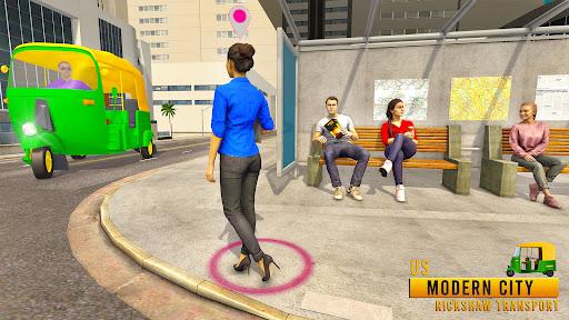 Tuk Tuk Auto Rickshaw Driving Simulator Games screenshot 2