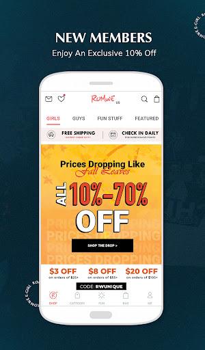 ROMWE -Online Fashion Store screenshot 8