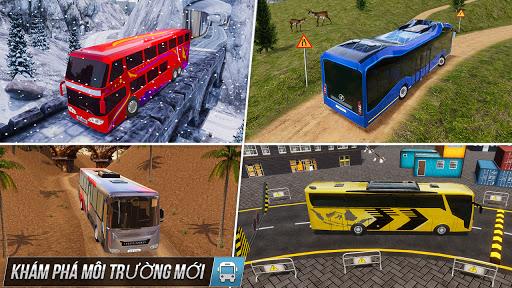 Buýt mô phỏng trò chơi đậu xe - trò chơi xe buýt screenshot 6