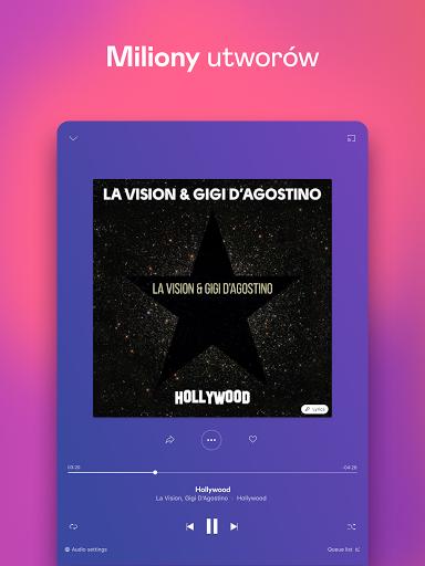 Deezer: muzyka, playlisty i podcasty screenshot 9